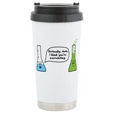 Overreacting Travel Mug
