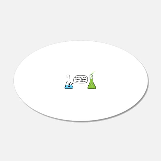 Overreacting Decal Wall Sticker