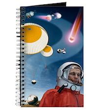Yuri Gagarin's landing, artwork Journal