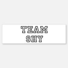Team SHY Bumper Bumper Bumper Sticker