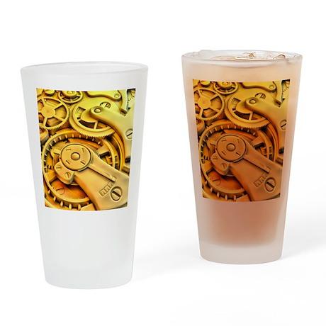 Wrist watch interior Drinking Glass