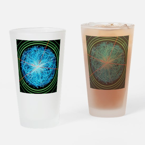 Simulation of Higgs boson productio Drinking Glass