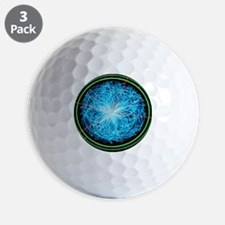 Simulation of Higgs boson production Golf Ball