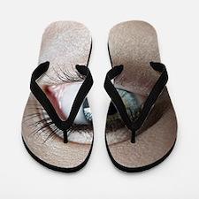 Woman's eye Flip Flops