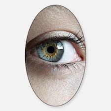 Woman's eye Sticker (Oval)