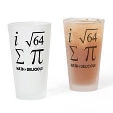 Delicious Drinking Glass