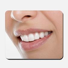 Woman's mouth Mousepad
