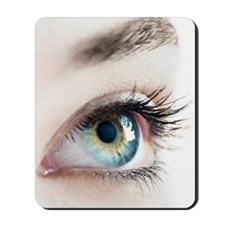 Woman's eye Mousepad