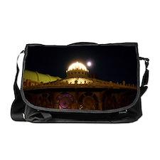 Carousel At Night Messenger Bag