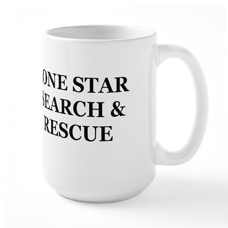 Lone Star SAR Large Mug