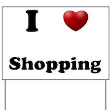 Shopping Yard Sign