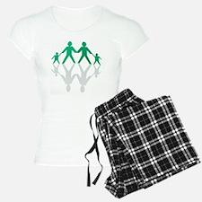 Paper chain family Pajamas
