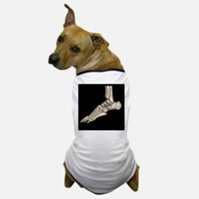 Normal foot, 3D CT scan Dog T-Shirt