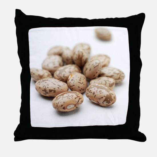 Pinto beans Throw Pillow