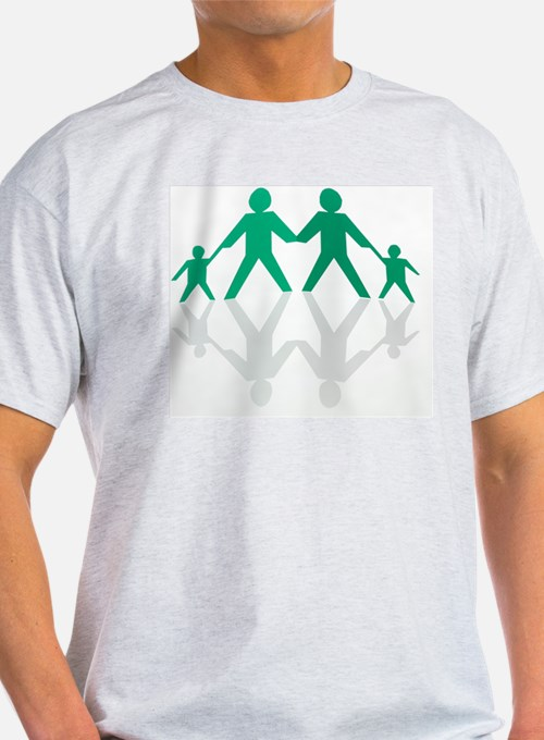 Paper chain family T-Shirt