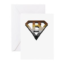 SUPERBEAR PRIDE/BRICK/SHADOW/SHIELD Greeting Cards