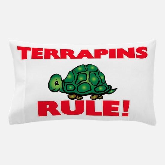Terrapins Rule! Pillow Case