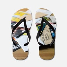 Junk mail Flip Flops