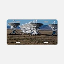 (19) Very Large Array 7511 Aluminum License Plate