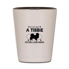 tibbie designs Shot Glass