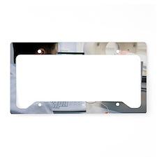 CT scanning License Plate Holder