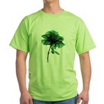 Color On Color Aura Rose Green T-Shirt