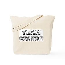 Team SECURE Tote Bag
