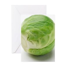 Brussels sprout Greeting Card