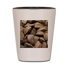 Brazil nuts Shot Glass