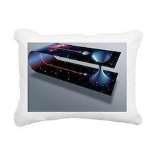 Wormhole, conceptual art Rectangular Canvas Pillow