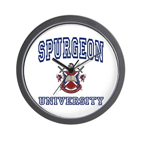 SPURGEON University Wall Clock