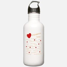 I Love Conjugation Water Bottle