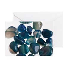 Assortment of Gemstones Greeting Card