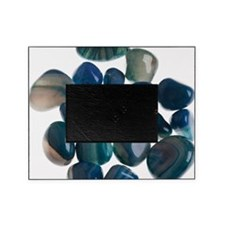 Assortment of Gemstones Picture Frame