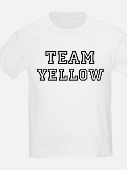 Team YELLOW Kids T-Shirt