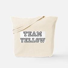 Team YELLOW Tote Bag
