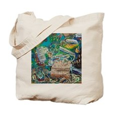 Tile - A Story in My Art - Celebration of Tote Bag