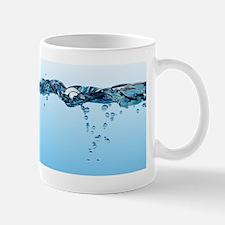 Water surface, split view Mug