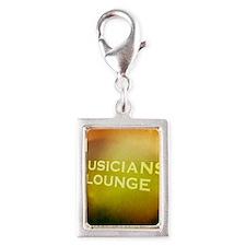 Lounge Silver Portrait Charm
