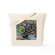 Tile - A Story in My Art - Hebrew keys Tote Bag