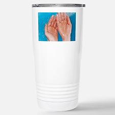 Washing hands Travel Mug