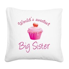baby32 Square Canvas Pillow