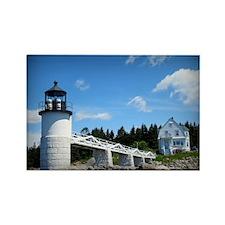 Marshall Point Lighthouse Rectangle Magnet