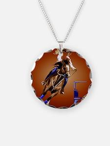 Barrel Horse Necklace
