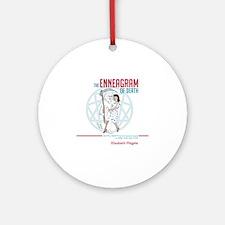 Enneagram of Death 10x10 Round Ornament