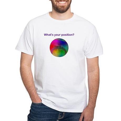 QUERY White T-Shirt