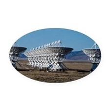 (12) Very Large Array 7511 Oval Car Magnet
