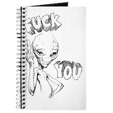 Paul the Alien F You Journal