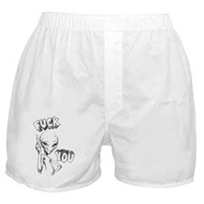 Paul the Alien F You Boxer Shorts