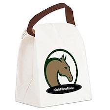 Circle F logo circular text-png Canvas Lunch Bag